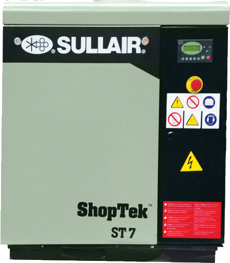 Sullair ShopTek CE ST7 rotary screw air compressor